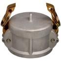 """1/2"""" EcoCam Type DC Aluminium Female Camlock Dust Cap"""
