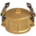"1/2"" EcoCam Type DC Brass Female Camlock Dust Cap"