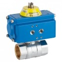 "1/2"" Genebre Art5029 Brass Actuated Ball Valve (Double Acting)"