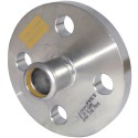 """22mm x 3/4"""" M-Press Stainless Steel Gas PN16 Flange Adapter"""