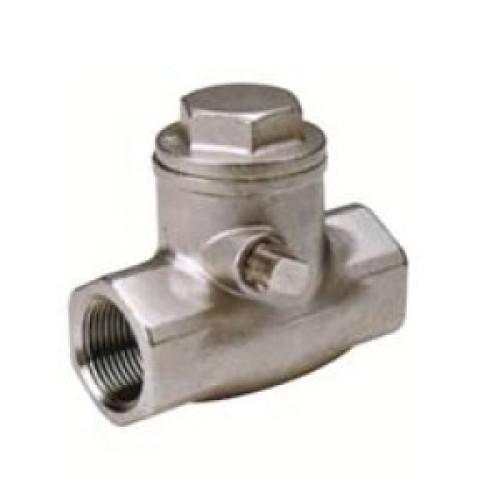 Quot genebre art stainless steel swing check valve